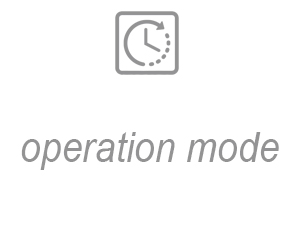 Operation mode
