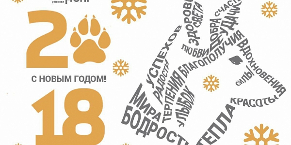 The Year of the Dog is setting foot on the threshold: greetings from «EnergoFront»